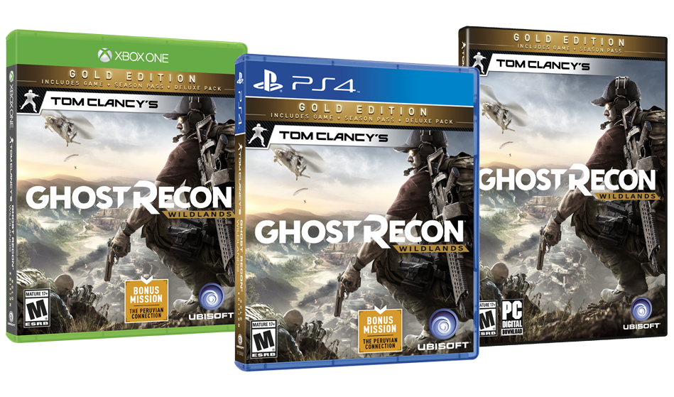 test ghost recon wildlands ps4