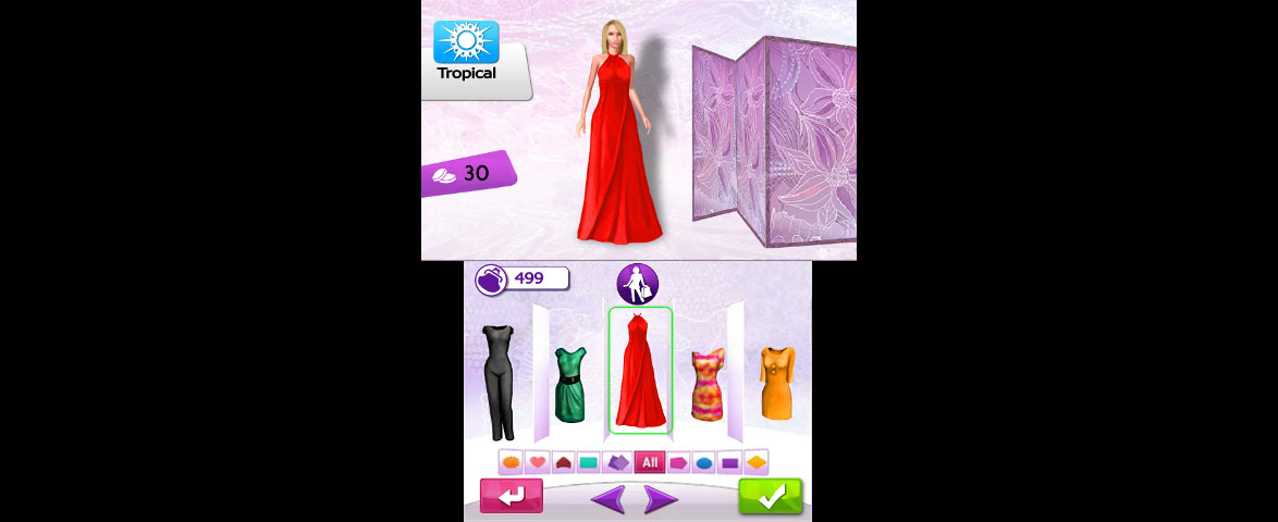 Imagine Fashion Designer Creation Screenshot