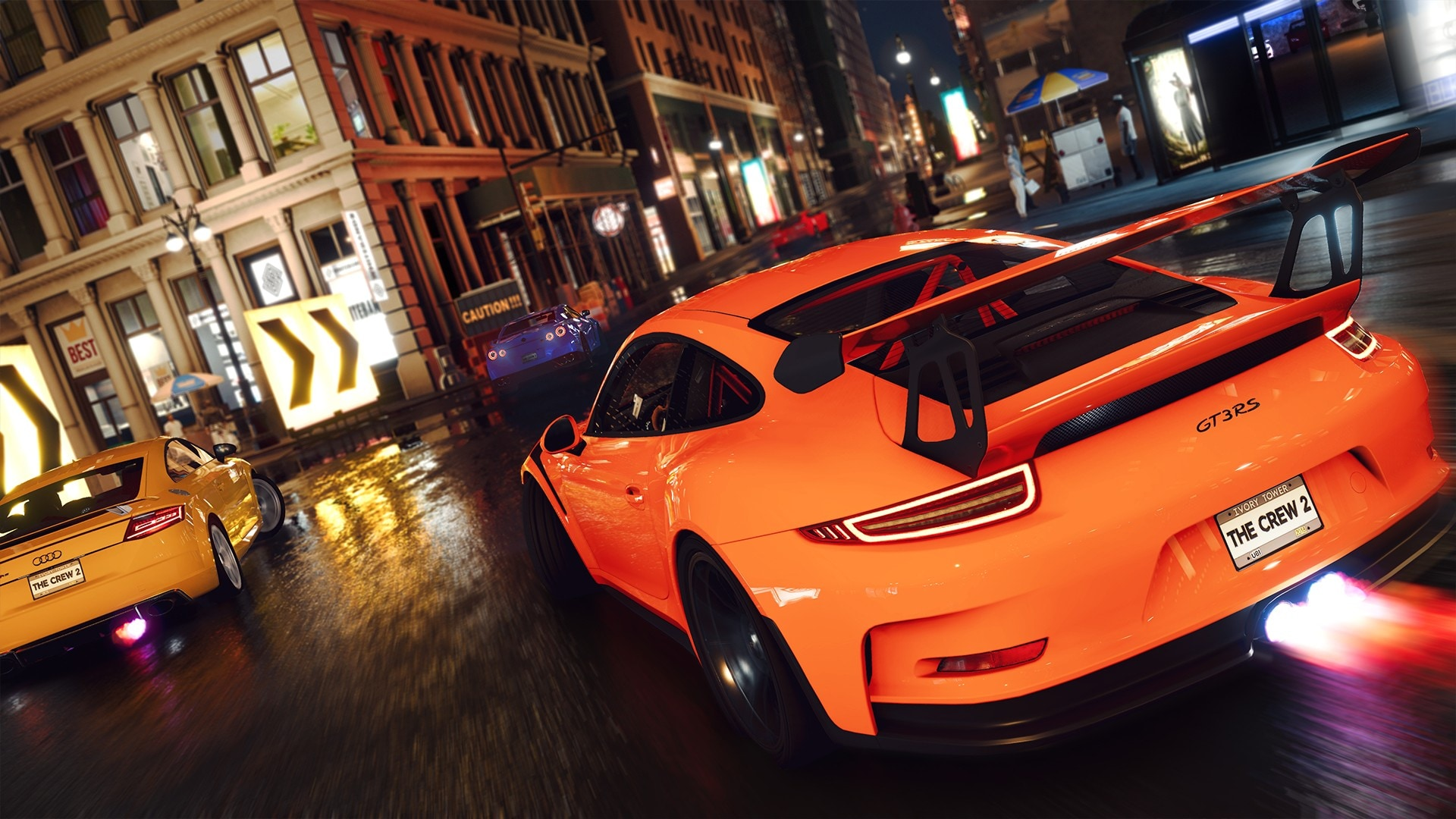 The Crew 2 sport cars