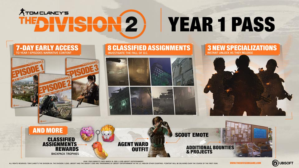 The Division 2 - Year 1 Pass