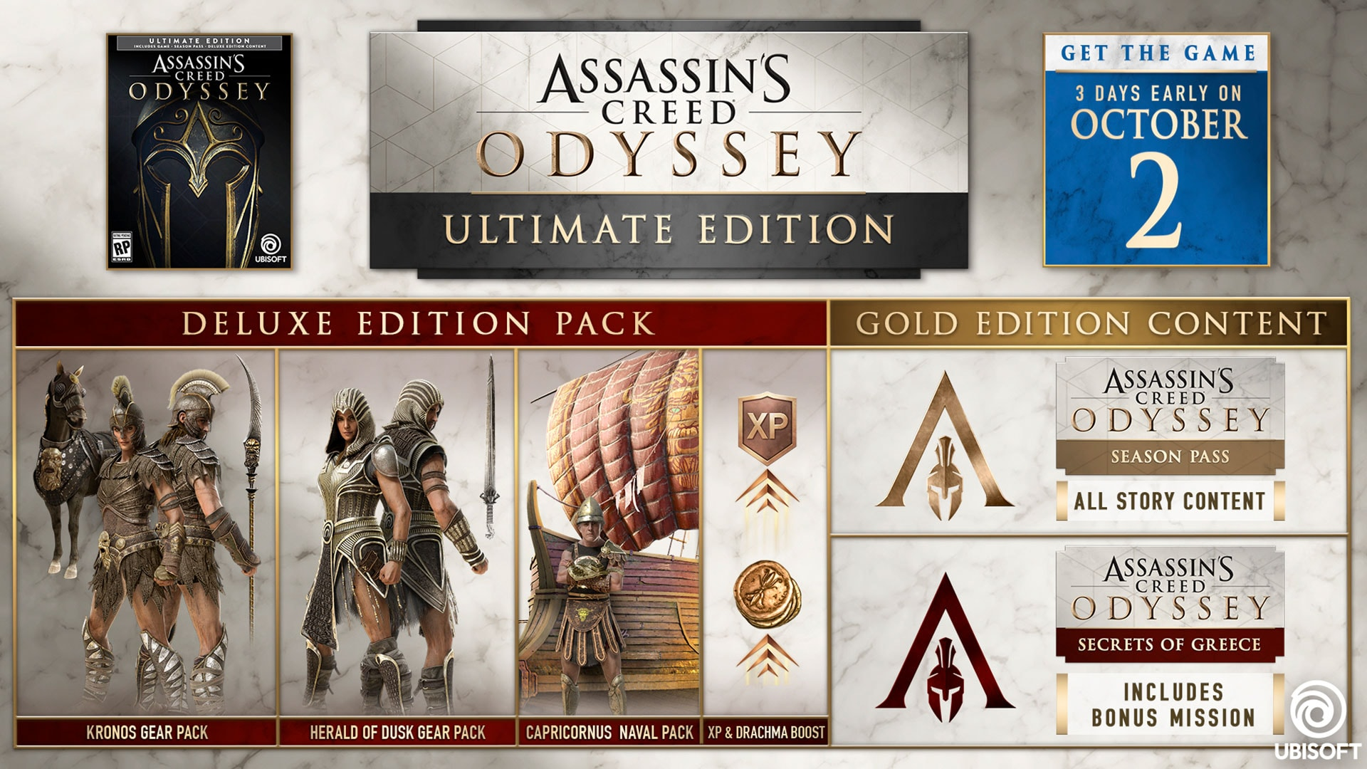 Assassin's Creed® Odyssey – 1 4 0 Patch Notes