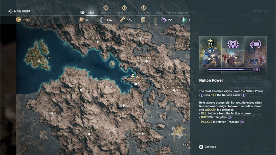 The Game System Of Assassin S Creed Odyssey
