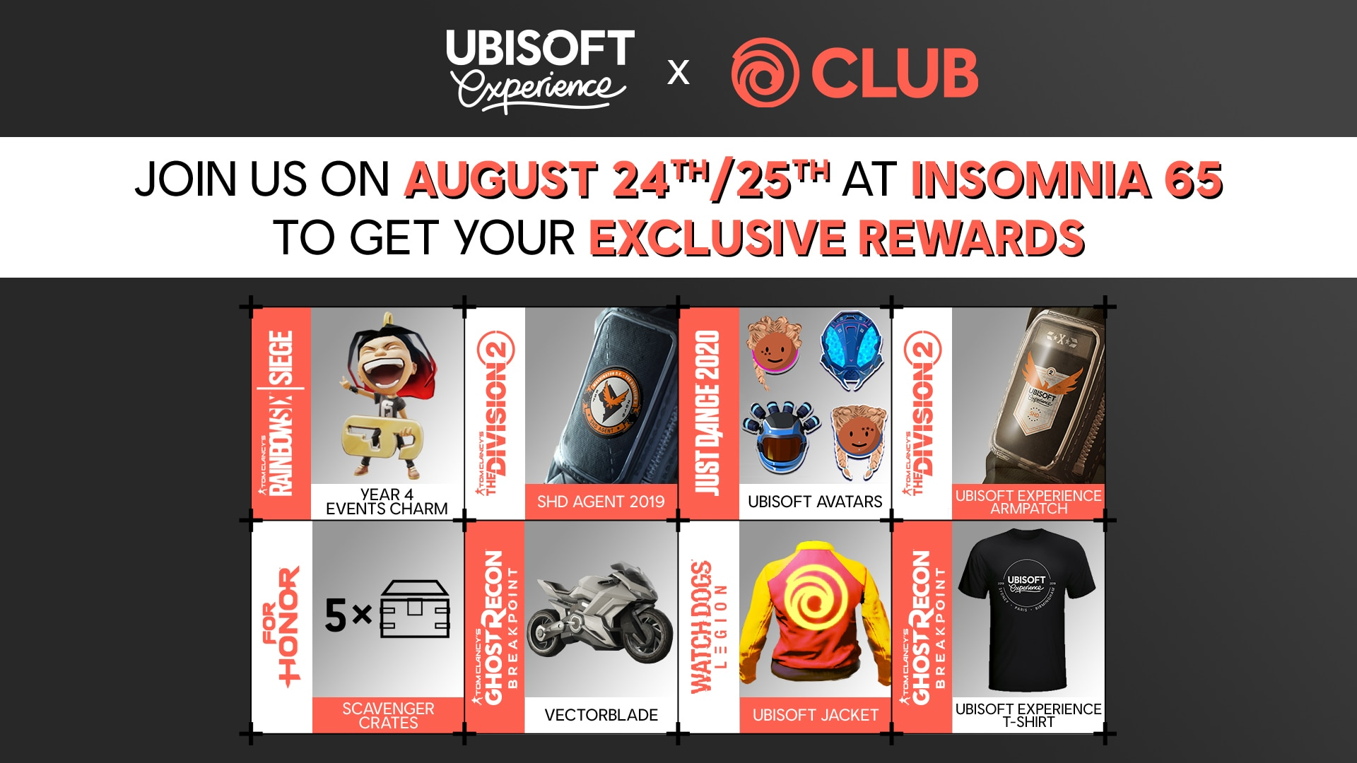 In-game rewards for your favourite games | Ubisoft