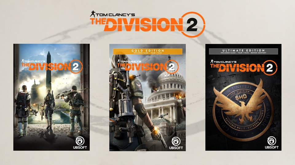 The division 2 pre order offers editions collectors malvernweather Image collections