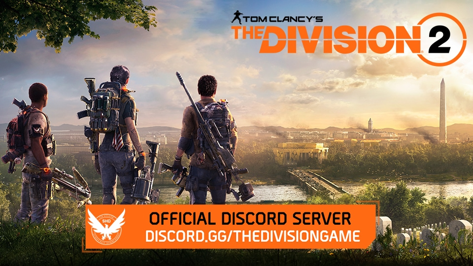 Welcome to The Division 2 Discord Server