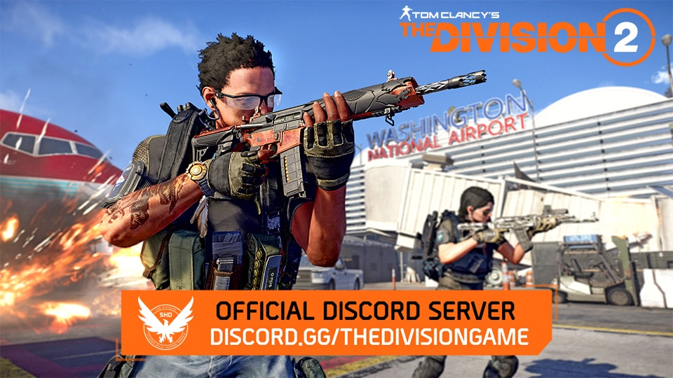 Find Your Squad - The Division 2 Discord Server