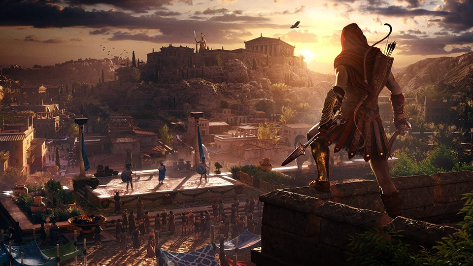 Assassin S Creed Odyssey The Game That Greece Built