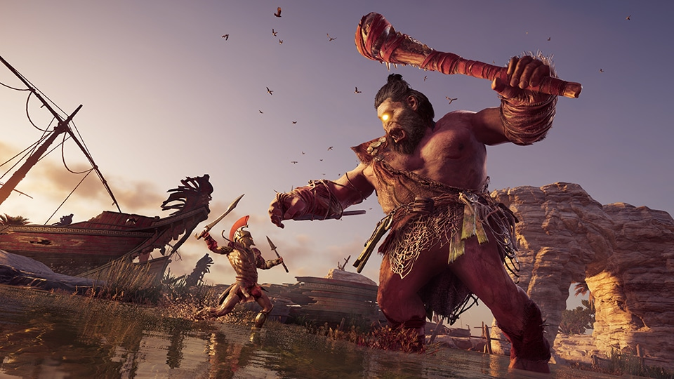 The Mythical Creatures Of Assassin S Creed Odyssey Interview