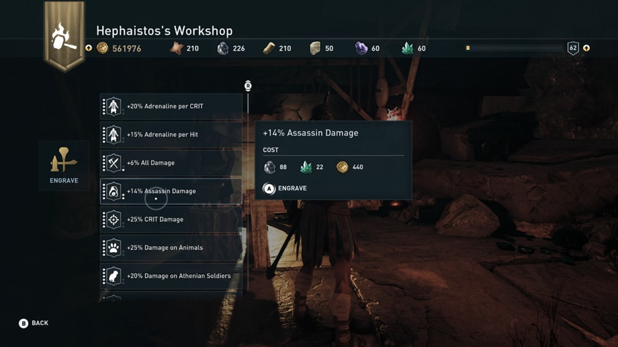 Assassin's Creed Odyssey's Patch 1.1.2
