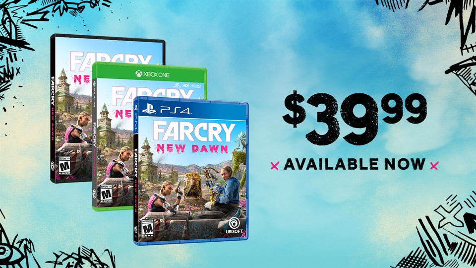 Far Cry New Dawn Available Now