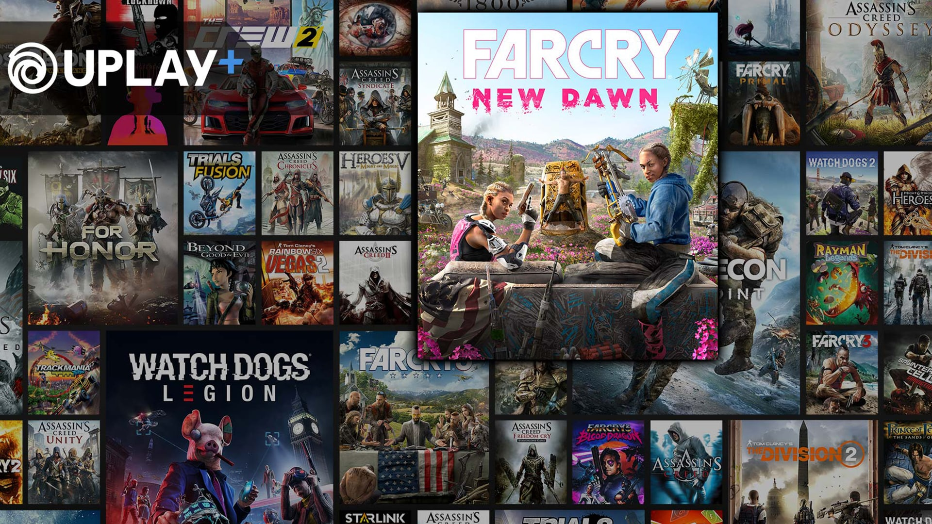 Ubisoft Subscription Service UPLAY+ Available Now