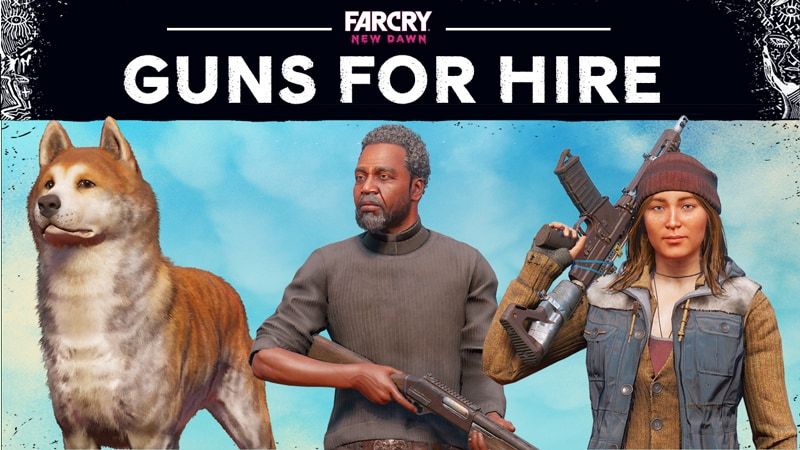 Meet The Guns And Fangs For Hire In Far Cry New Dawn