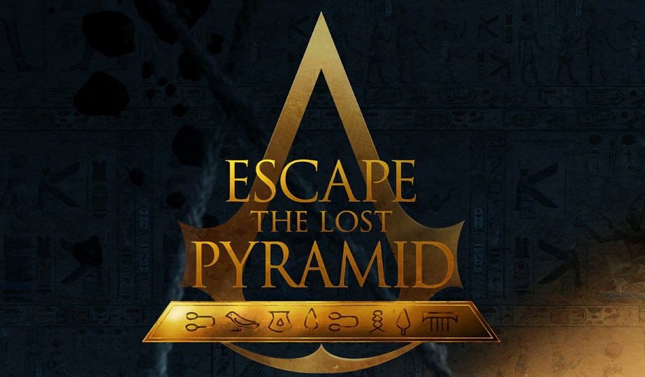 Escape The Lost Pyramid In A VR Escape Room Set in The World of Assassin's Creed Origins