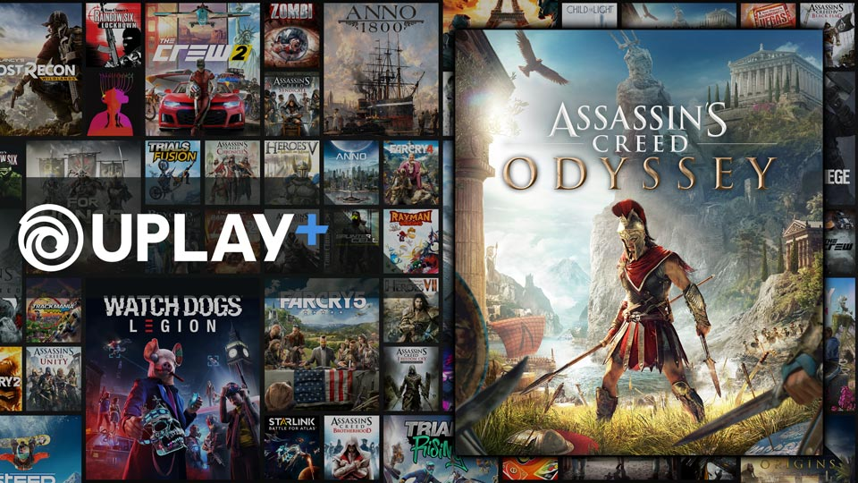 Jouez à Assassin's Creed Odyssey avec UPLAY+