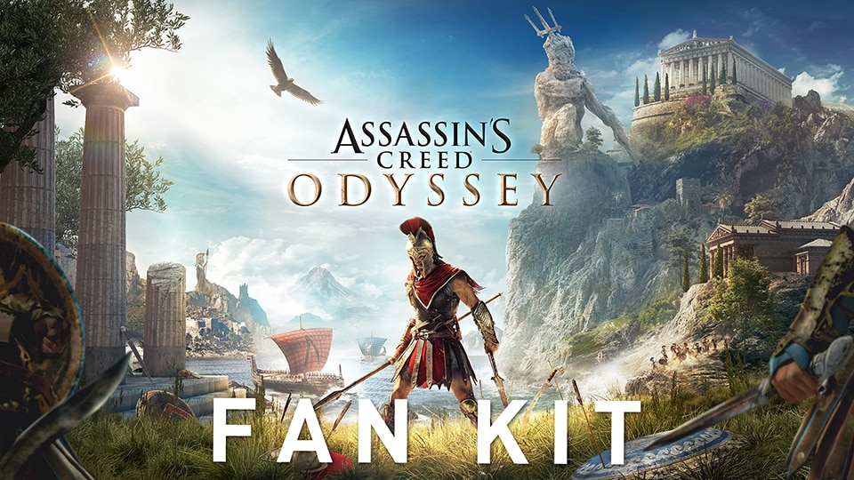 Assassin's Creed® Odyssey - Fan kit de l'E3