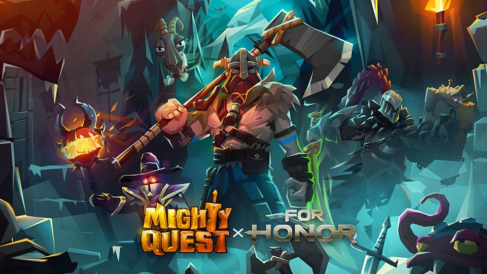 [2020-01-14] For Honor Raider invades Mighty Quest