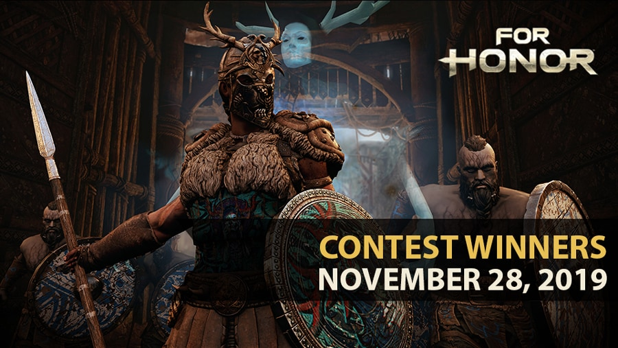 For Honor Van Halloween Contest Winners