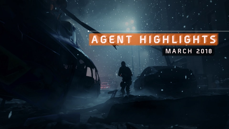 03-04-2018 [News] Agent_Highlights_March_Header