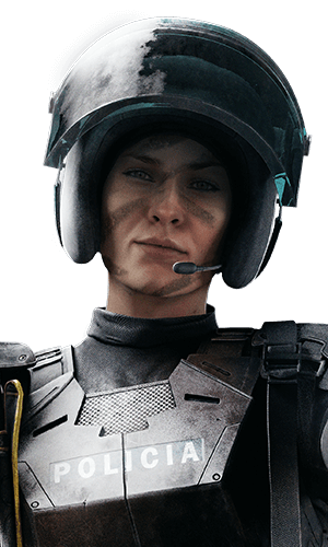 Mira Portrait - Rainbow Six Siege