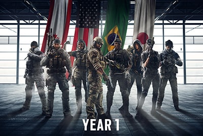 Operators bundle Year 1 - Rainbow Six Siege