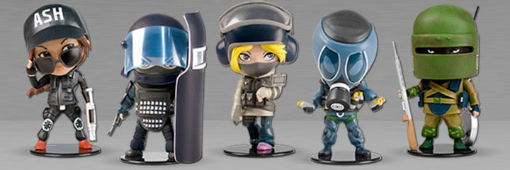 Rainbow Six Siege Chibi Figurines Collectibles