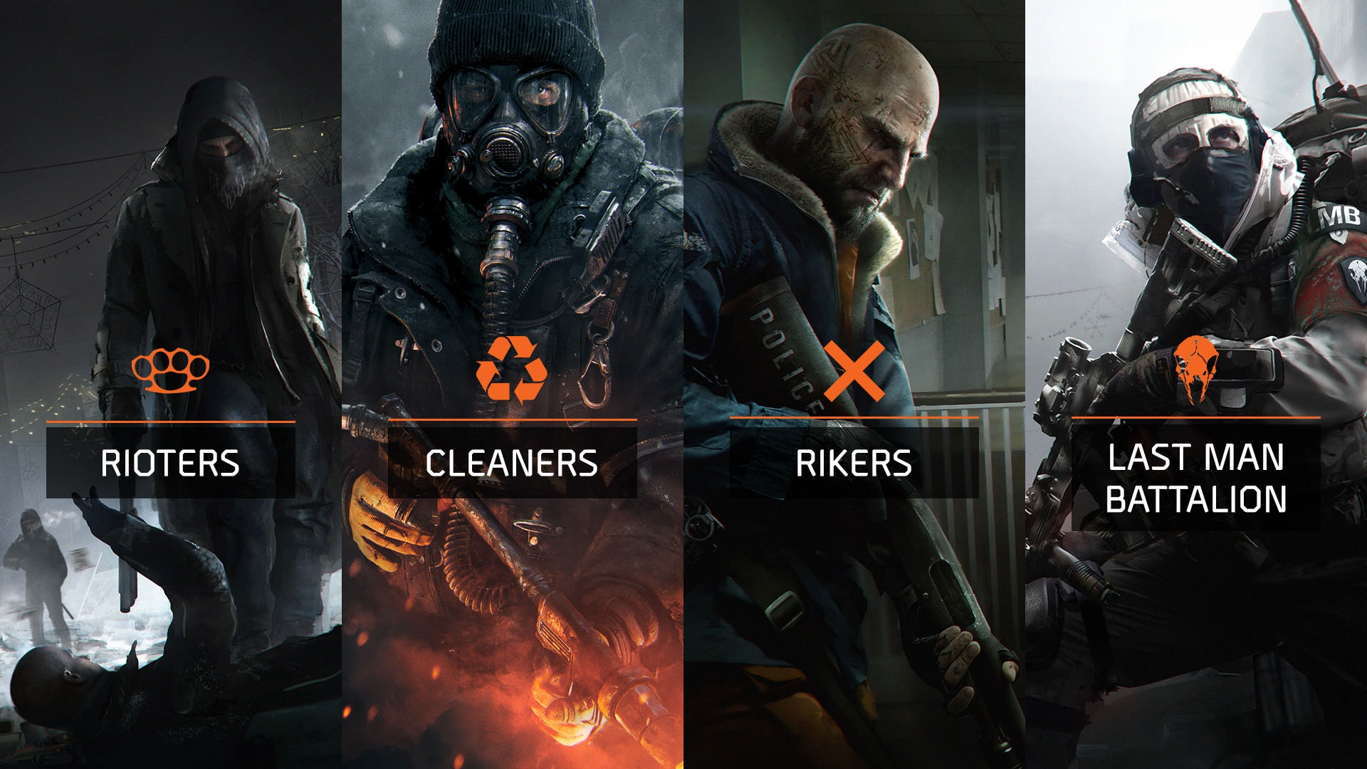 2016-02-09 [News] The Division – Faction EMEA