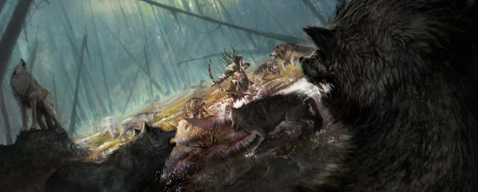 Dire Wolf Hunt