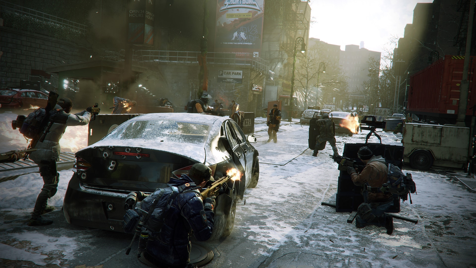 The Division: Free 1.6 patch & Last Stand DLC, live today.