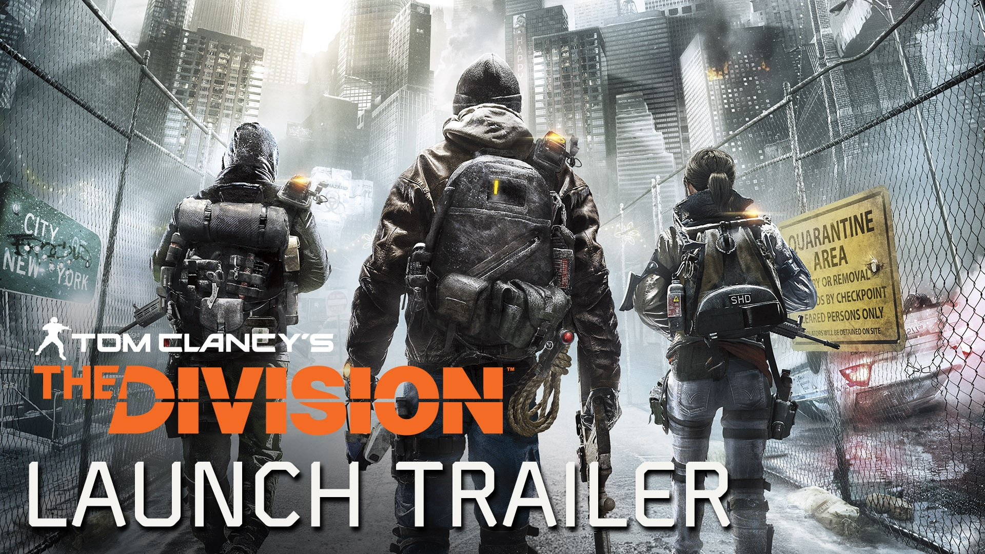 2016-03-01[News] The Division – launch trailer