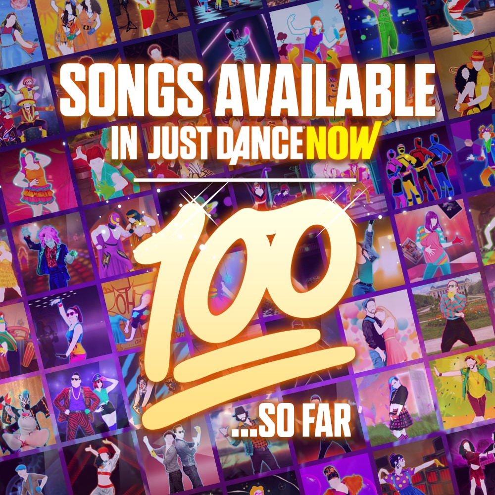 100 songs in Just Dance Now! | Just Dance News | Ubisoft®