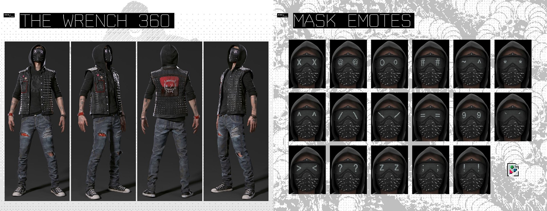 Where To Get Wrenches Outfit In Watch Dogs