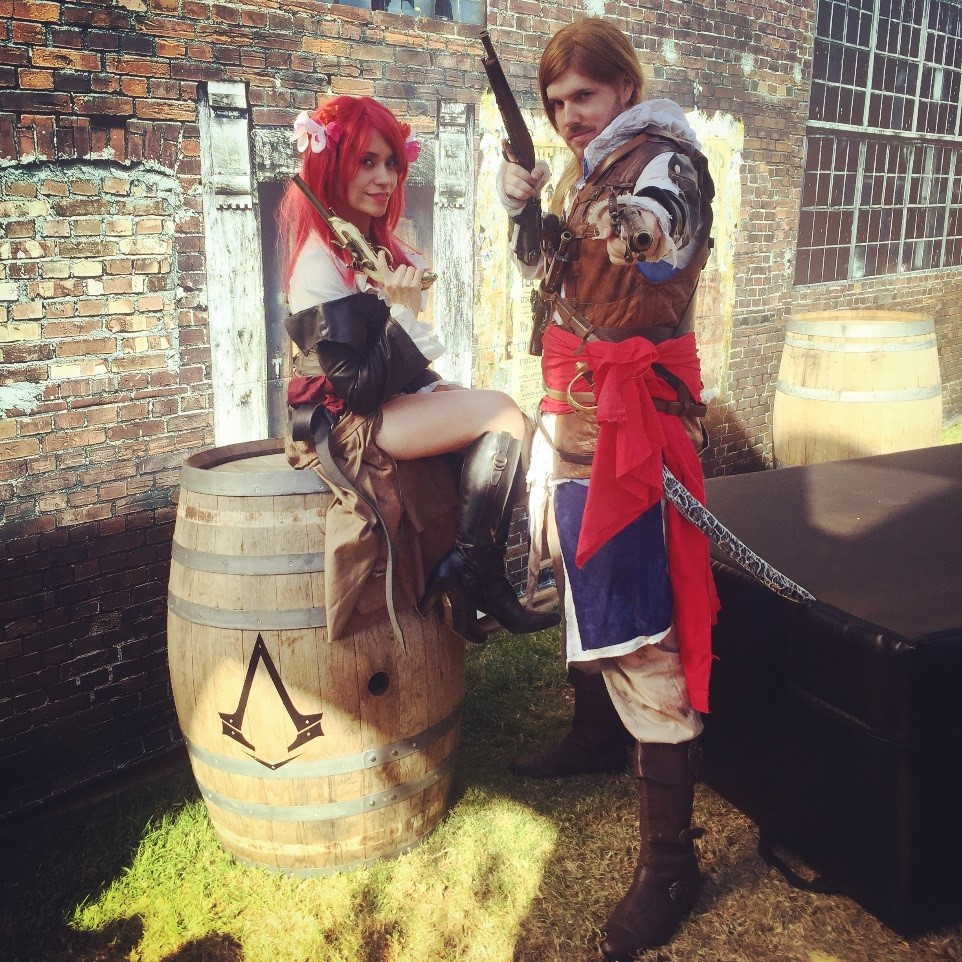 Sam and Alex: Anne Bonny and Edward Kenway