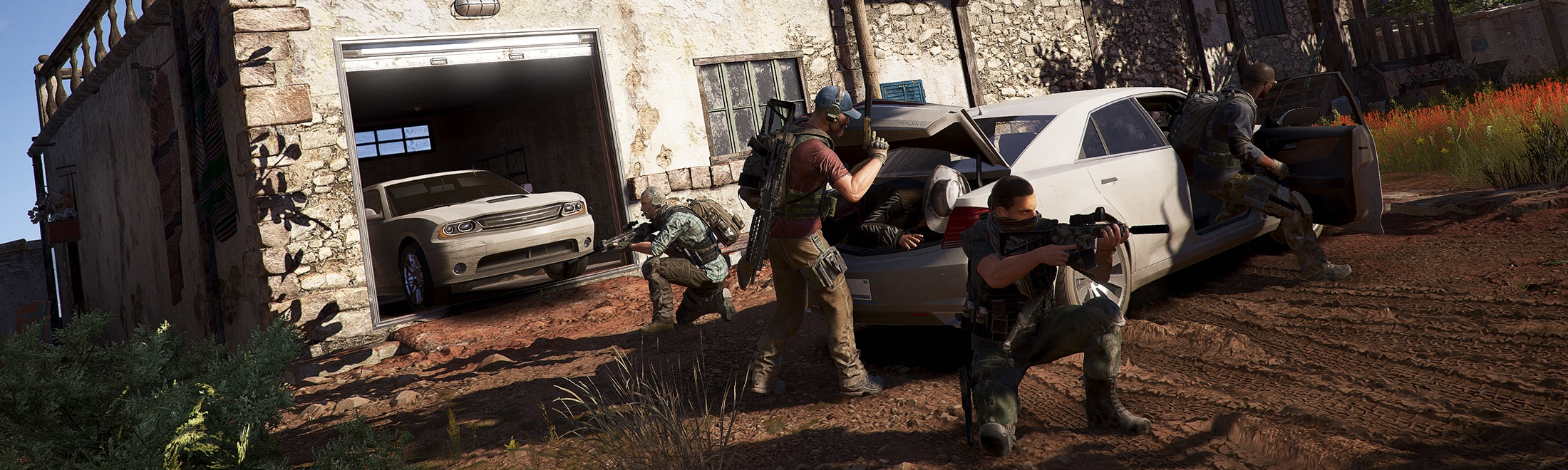 Image result for ghost recon wildlands story cutscene