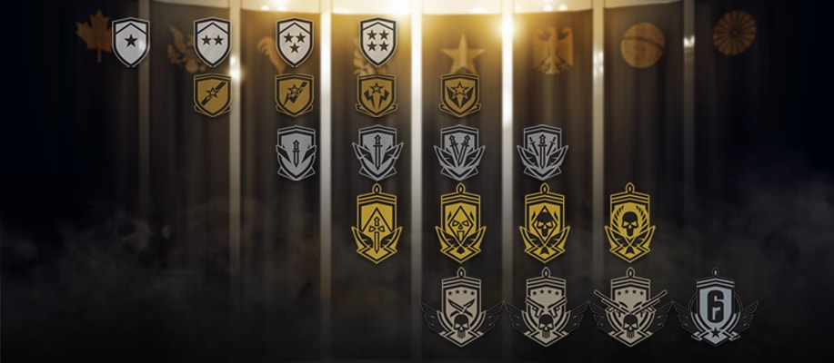 Matchmaking Rating and Ranks | Rainbow Six® Siege Game News