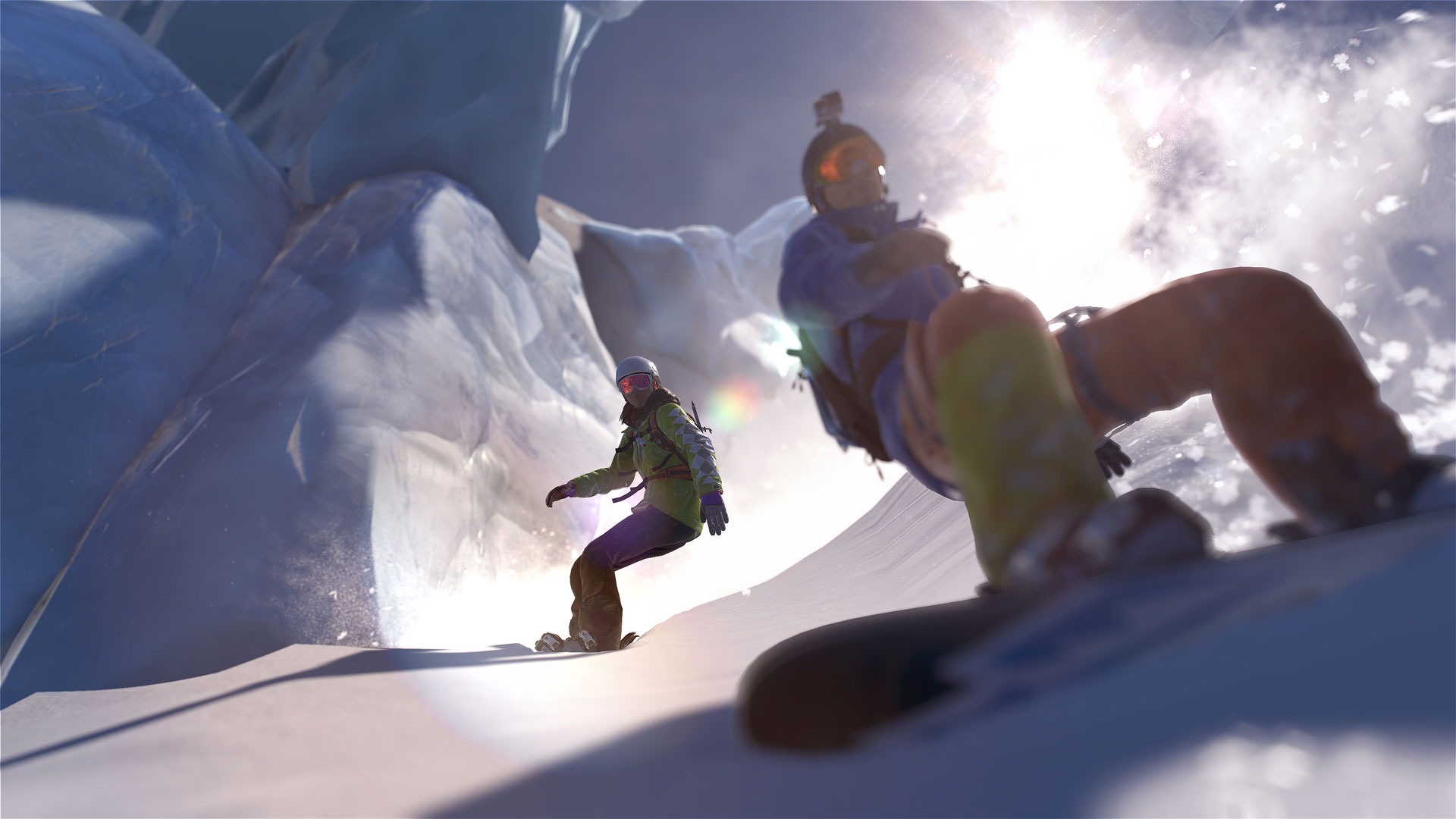 Ubisoft Announces Steep An Open Action Sports Experience