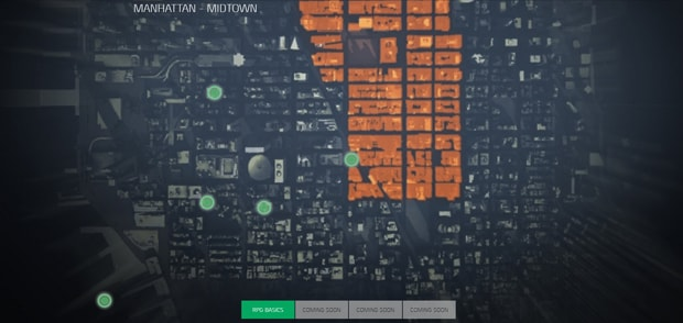 The Division Game Information and Interactive Map – Manhattan Interactive Map