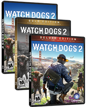 Watch Dogs 2 Boxart