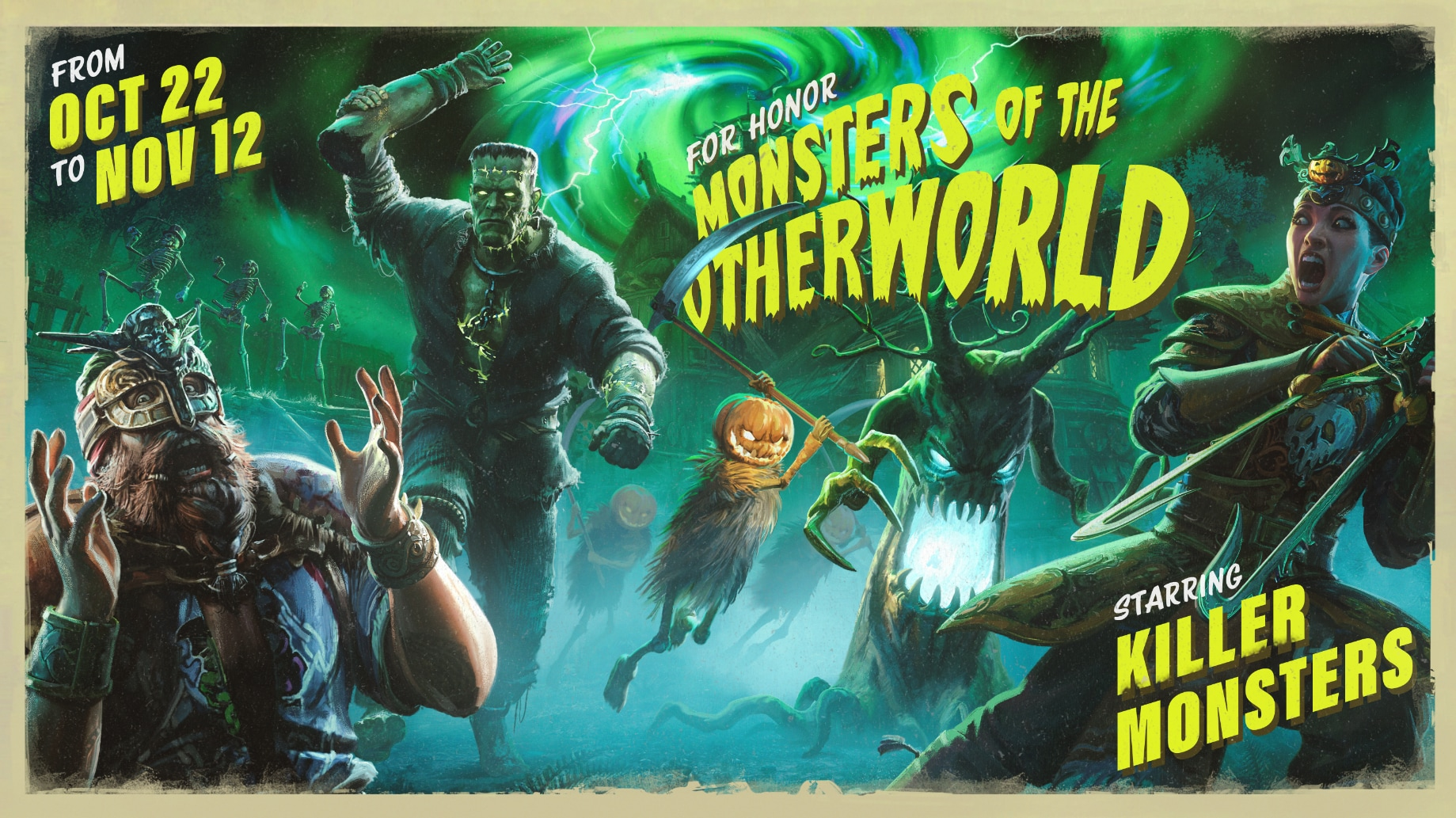 Monsters of the Otherworld Header
