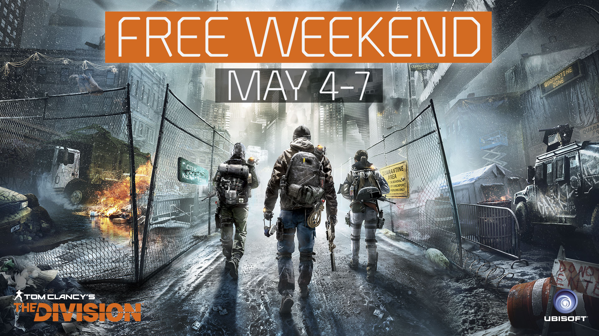 2017-05-04 [News] Freeweekend - header