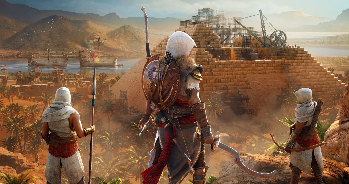 Assassin S Creed Origins On Ps4 Xbox One Pc Ubisoft Ca