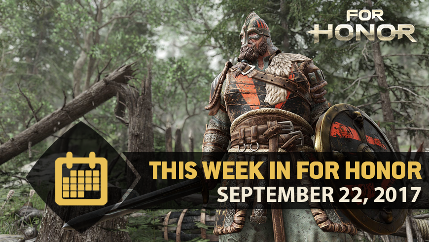 This Week in For Honor