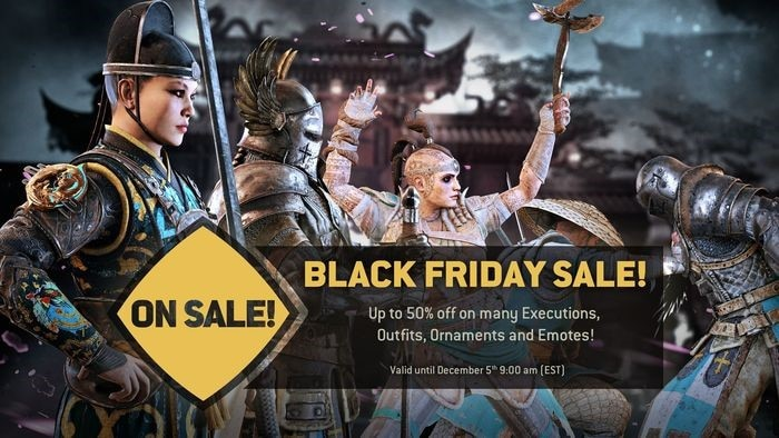For Honor Black Friday Sale