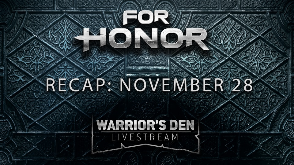 Warriors Den Recap - November 28