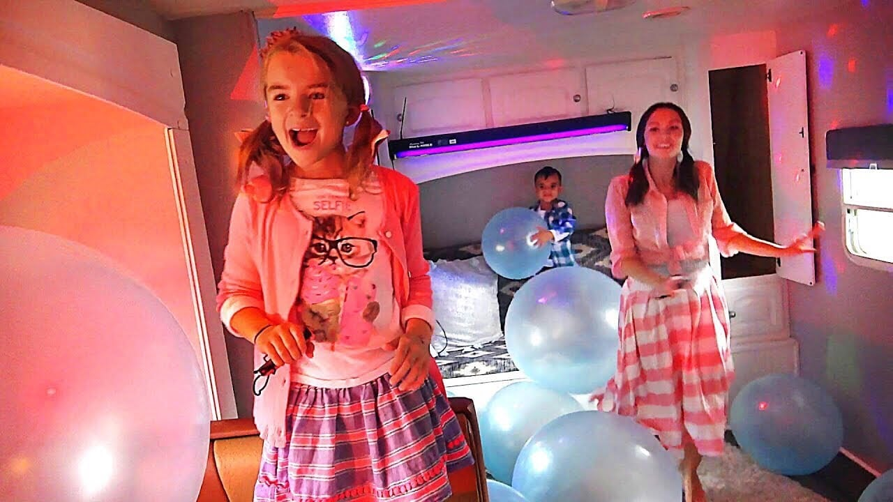 Let's JUST DANCE in Our New Camper!