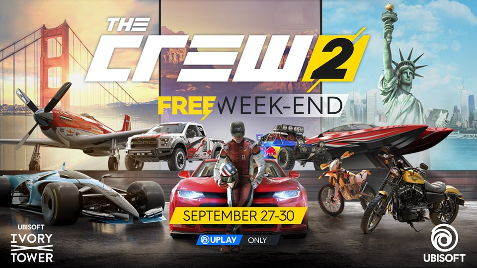 Play The Crew 2 for free this week-end on PC ! | The Crew News