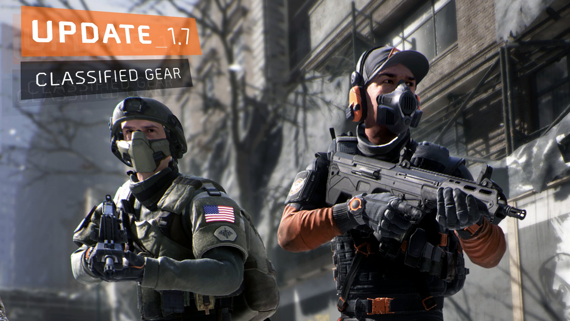 Update 1.7: Classified Gear Header