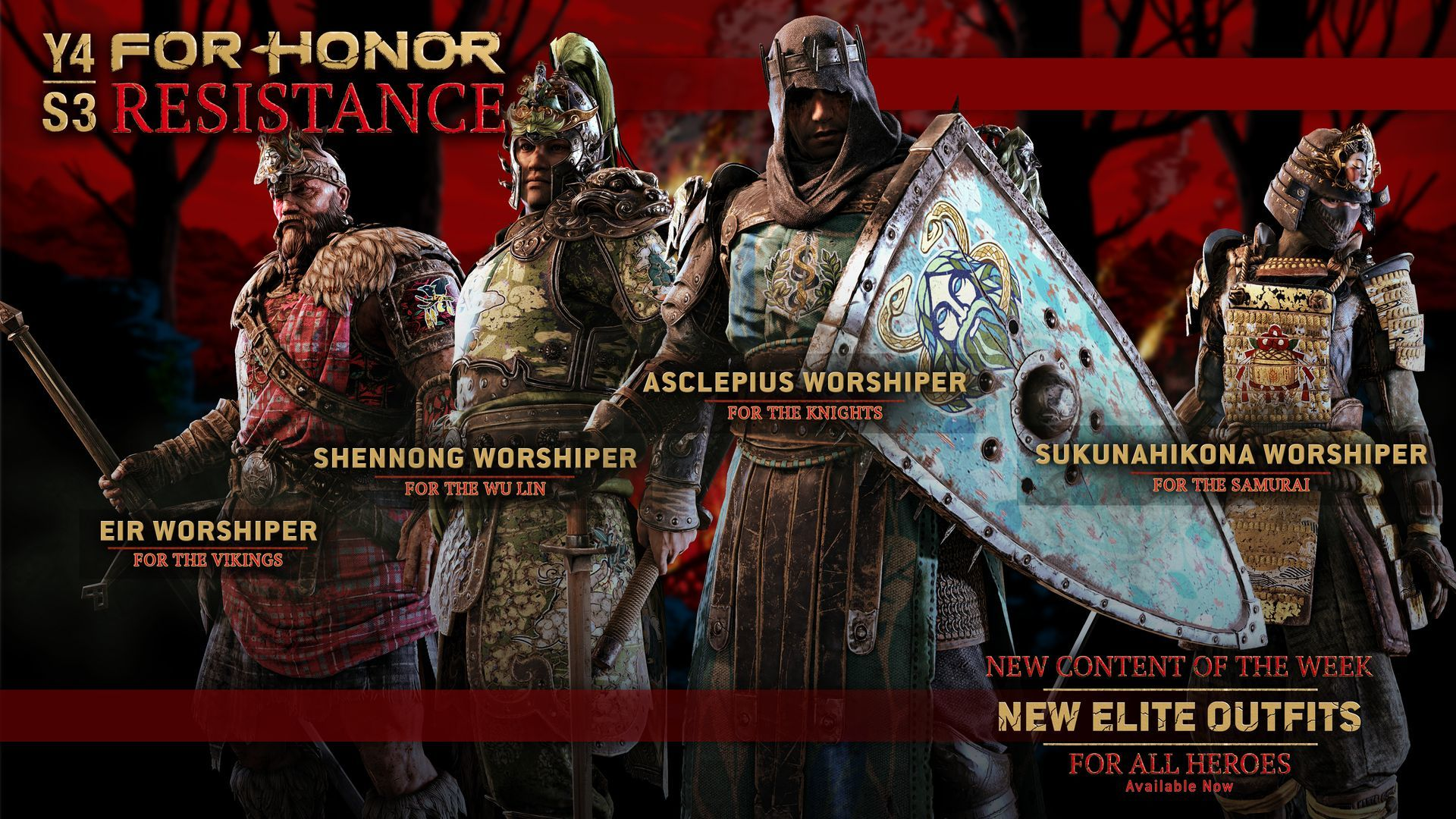 Worshipper Elite Outfits