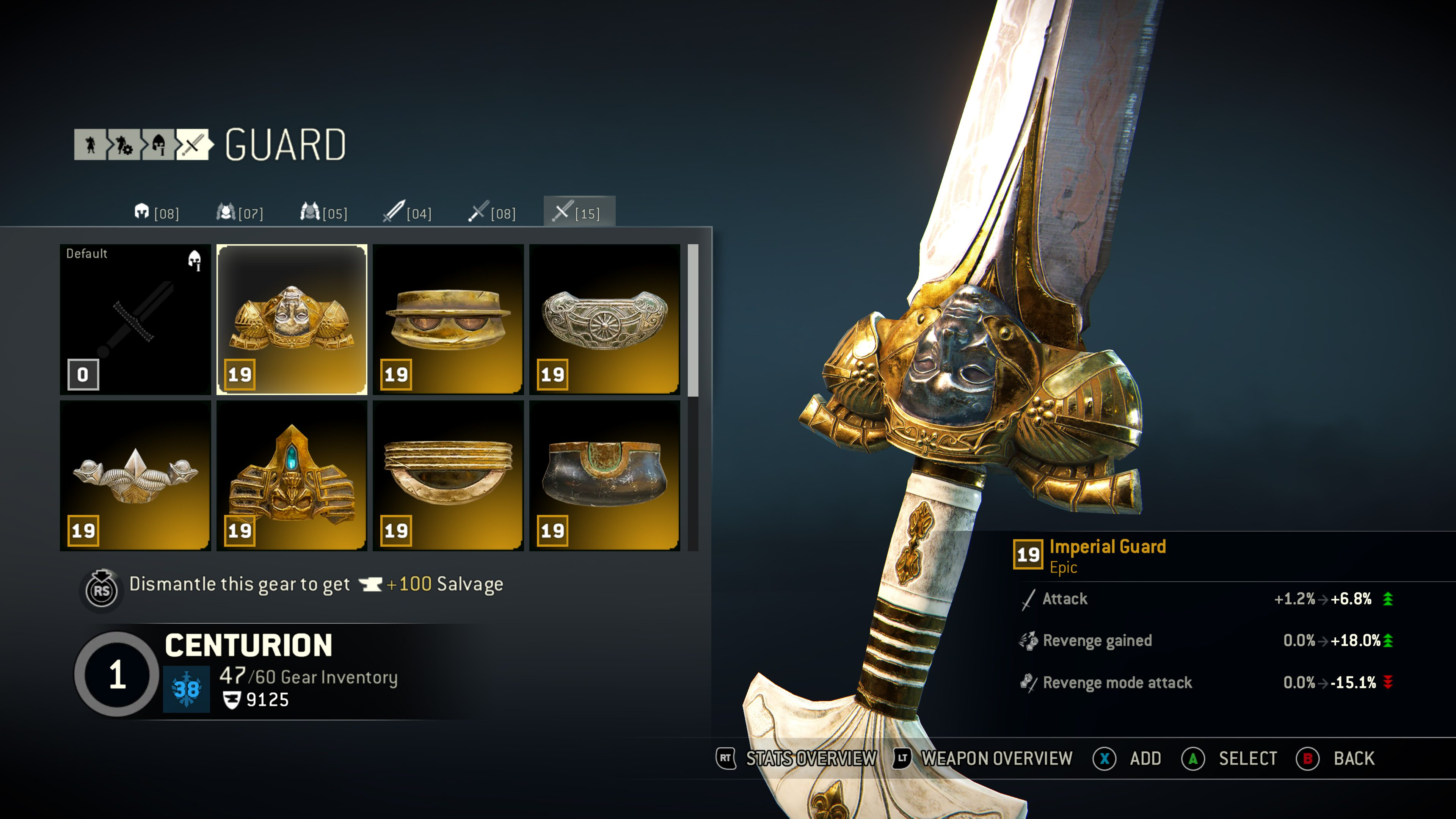 Best Item Build Raider For Honor