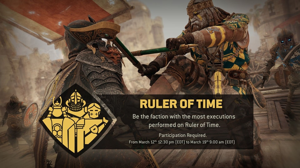 rULER OF tIME