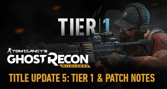 Special Operation 2: TU15 Patch Notes | Ghost Recon® Wildlands News